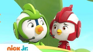 NEW Episodes of Top Wing 🐦 Coming April 23rd   Nick Jr.