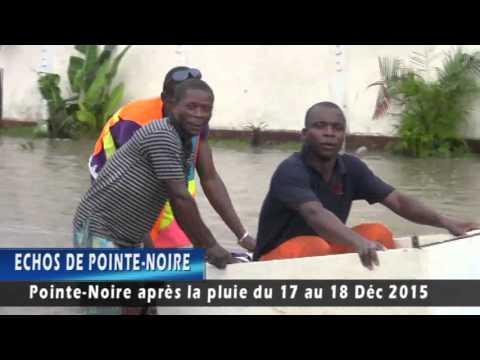 POINTE-NOIRE APRES LA PLUIE DU 17 AU 18 DECEMBRE 2015.flv