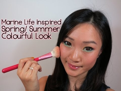 Marine Life Inspired  Spring / Summer Colourful Look