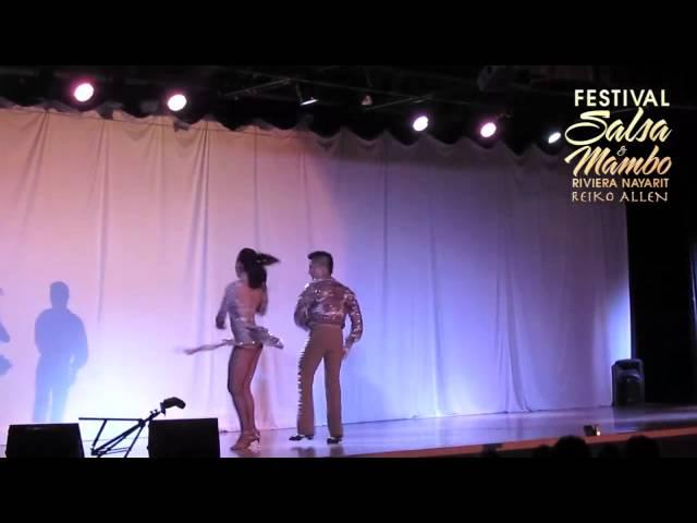 Ernesto & Maritza - Tierra Mia | Riviera Nayarit Salsa & Mambo Festival 2013