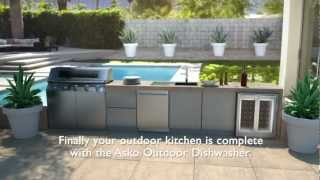 ASKO Outdoor Dishwasher Animation