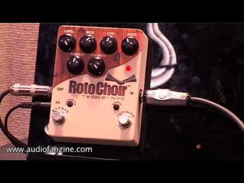 Tech 21 RotoChoir Video Demo [NAMM 2011]