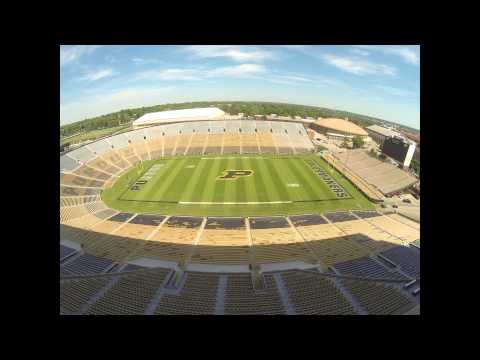Ross-Ade Stadium Field Time-Lapse
