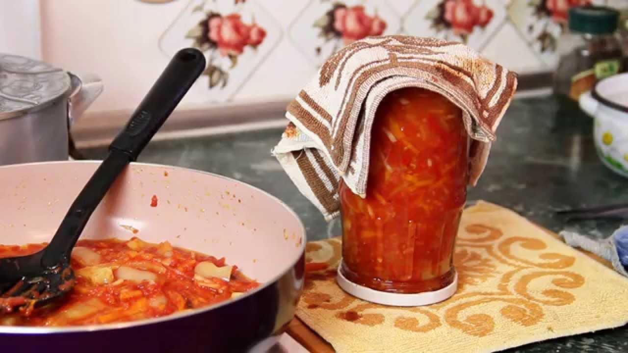 Приготовление лечо из помидоров в домашних условиях 140