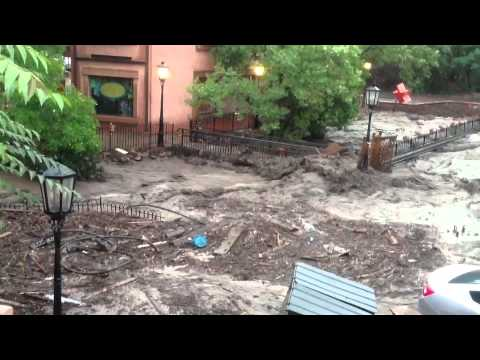 Manitou Springs Flood - 8/9/2013