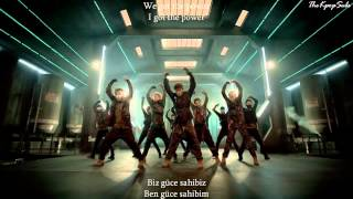 B.A.P (비에이피) - Power MV Turkish Sub & Romanization Lyrics