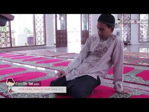 40. Tutorial Cara Solat Nabi: Sikap Duduk Yang Terlarang Dalam Sholat (CaraSholat.com)