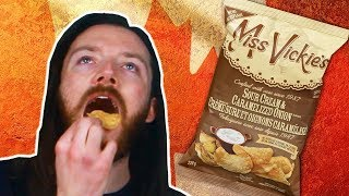 Irish People Try Canadian Chips
