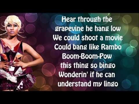 Nicki Minaj - Va Va Voom Lyrics Video