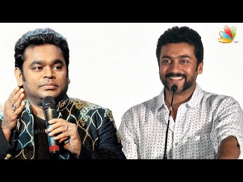 Surya Speech : AR Rahman used world technicians to enhance 24 | Press Meet | Vikram kumar