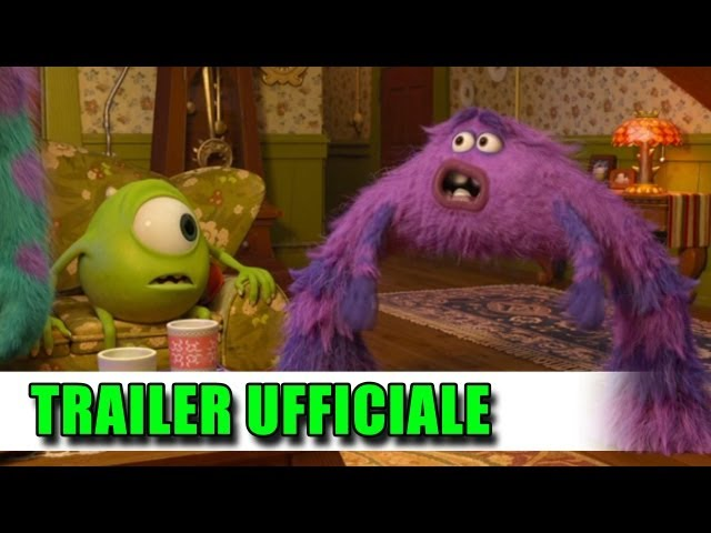 Monsters University Trailer Italiano