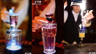 Mãn nhãn với nghệ thuật pha chế rượu khiến bạn không thể rời mắt 😍 Tik Tok China