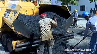 VIDEO: Aux Cayes Haiti - Tout Rue Okay asfalte nan Karavan Chanjman an
