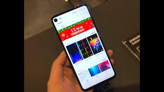 Живые фото подтверждают, что вырез в экране Samsung Galaxy S10 будет меньше, чем у Galaxy A8s