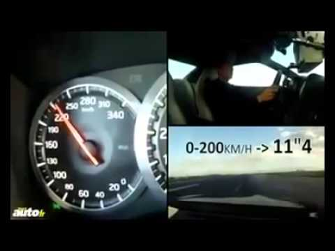 (0-300km/h) Top 10 fastest motors in the world 2010