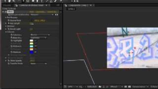Como pasar una imagen de 2D a 3D en after effects 2/2