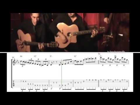 Angelo Debarre - Topsy ( Angelo Debarre Solo Transcription )