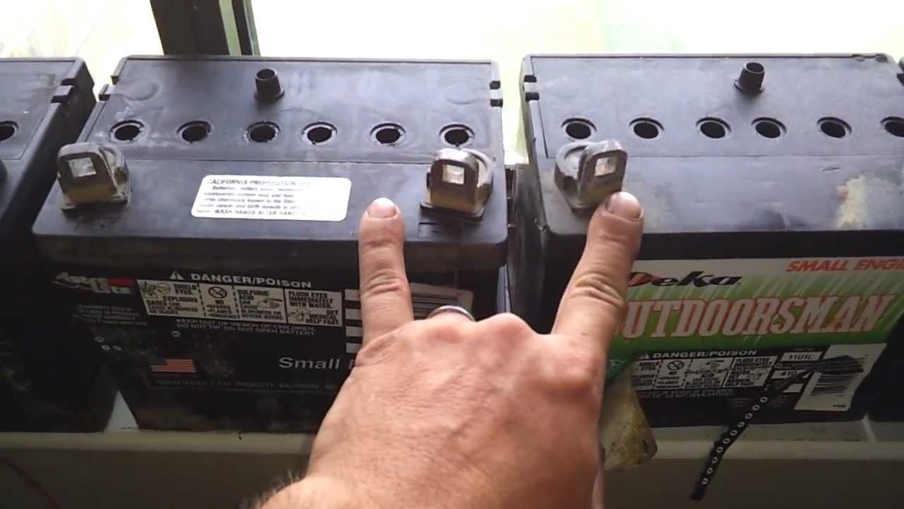 What Does Battery Acid Look Like Inside view of lead ac...