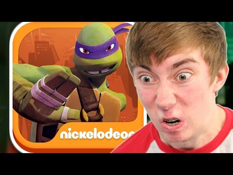 TEENAGE MUTANT NINJA TURTLES: ROOFTOP RUN (iPhone Gameplay Video)