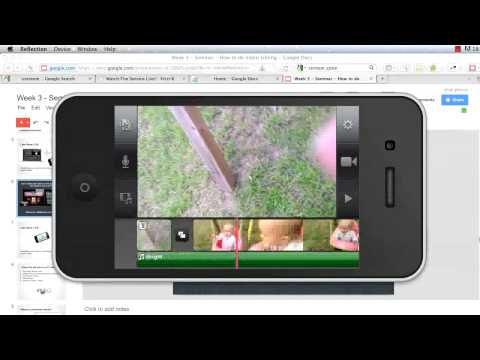 Week 3 - Video editing and Video Streaming - Big Church Media on a Tiny Budget