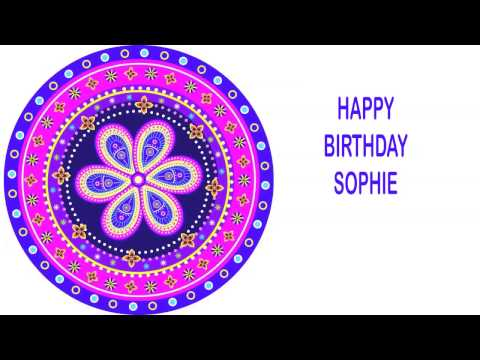 Sophie   Indian Designs - Happy Birthday video