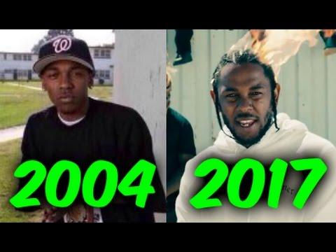 The Evolution of Kendrick Lamar (2004-2017) #1