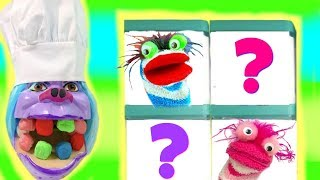 Trolls Chef Get Colorful Play Doh Dentist Teeth Surprise Blind Boxes