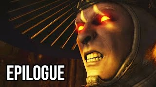 Mortal Kombat X EPILOGUE Walkthrough Gameplay Part 15 - Evil Raiden?? - Story Epilogue (60FPS 1080p)