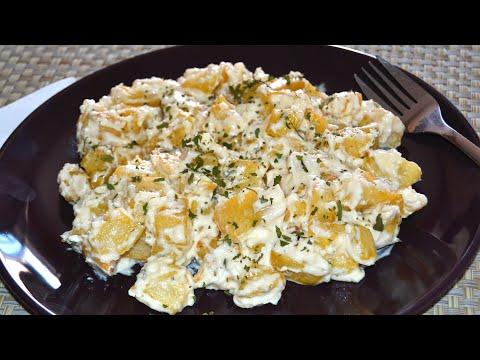 Patatas con Alioli Casero | Recetas de aperitivos y tapas
