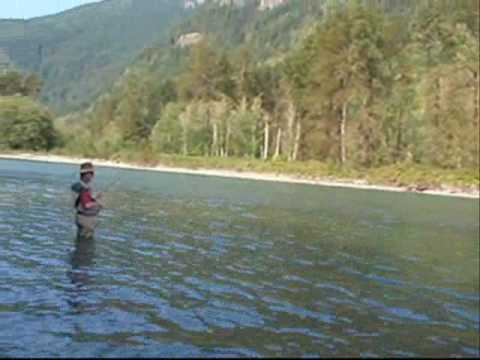 Fishing for Pinks on the Skagit River, Washington