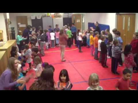 Brickton Montessori School Quaker Dance