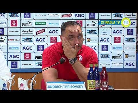 Tisková konference hostujícího týmu po utkání Teplice - Slavia Praha (26.5.2018)