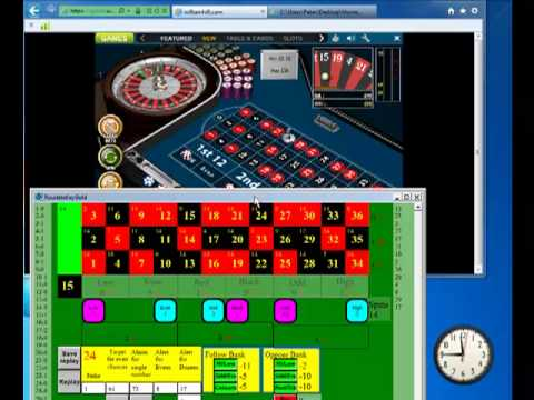Playing the Infallible System with Roulette Key Gold at William Hill RNG
