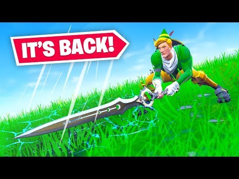 THE SWORD IS BACK IN FORTNITE!
