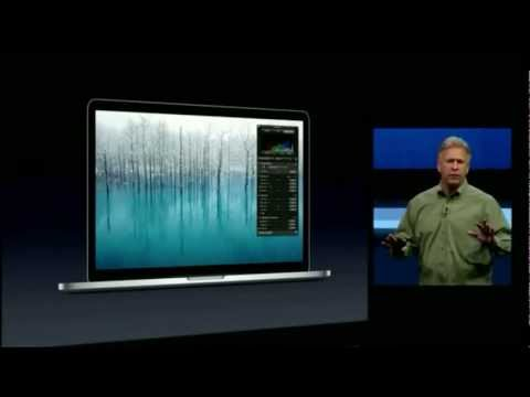 Apple WWDC 2012 - MacBook Pro with Retina Display Introduction
