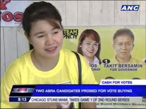 2 Abra bets probed for alleged vote-buying