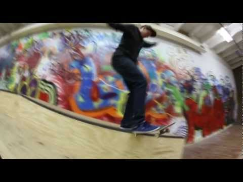 "Chris Andersen ""Clip Of The Day"" Skateboarding"