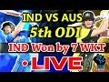 Live  Match India vs Australia 5th ODI, Live Online Streaming ,IND Won by 7 WKTS MP3