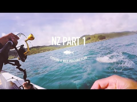 Welcome To The Land Of Big Kingfish - New Zealand Trip - Part I