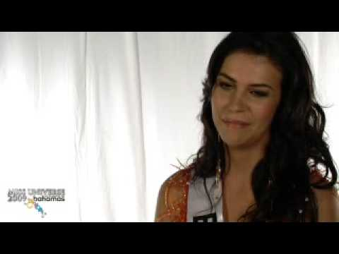 MISS BOLIVIA UNIVERSE 2009 INTERVIEW