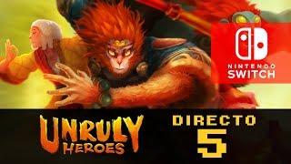 Unruly Heroes para Nintendo Switch   Directo en Español #5