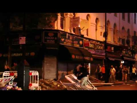 London Riots: Shop-owners defend their businesses in east London