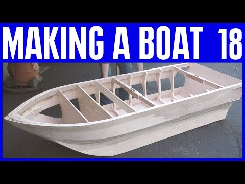 How to Build a Wooden Boat 18 Plus Viewers Wood Boats & Mavic Pro Drone