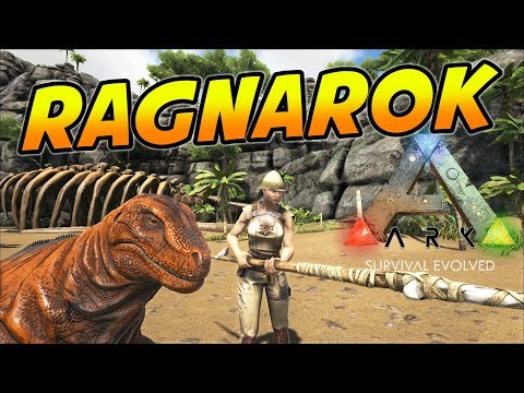 ARK: Survival Evolved - Ragnarok Map Expansion! (ARK Ragnarok Map Gameplay)