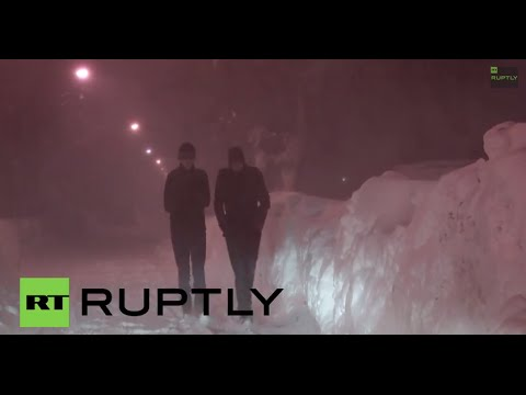 USA: Four dead as giant snowstorm hits the U.S.