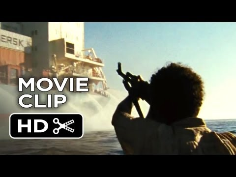 Captain Phillips Movie CLIP - Pirate Attack (2013) - Paul Greengrass Movie HD