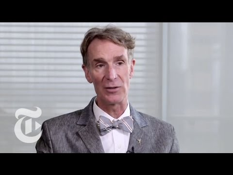 Bill Nye: Firebrand for Science - Aims to Change the World