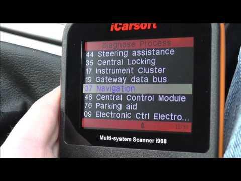 Diagnose VW Fox iCarsoft i908