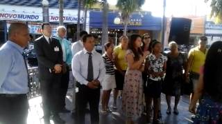 coral da igreja asembleia sede cba evangelismo na praça ipiranga se tudo esta dificil adore ao senho