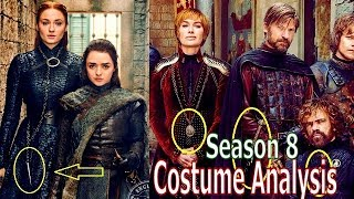 Game of Thrones Season 8 Costume Analysis & Predictions - Part 1